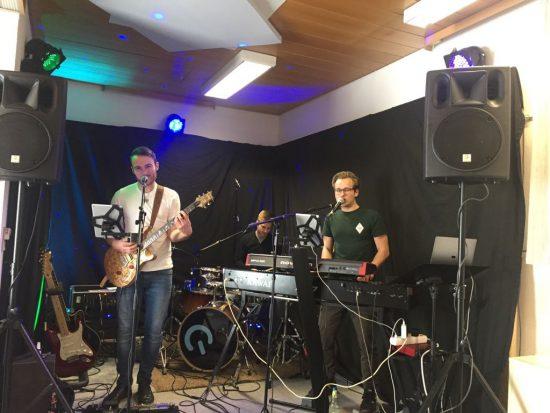 TMP-Band live im Probenraum